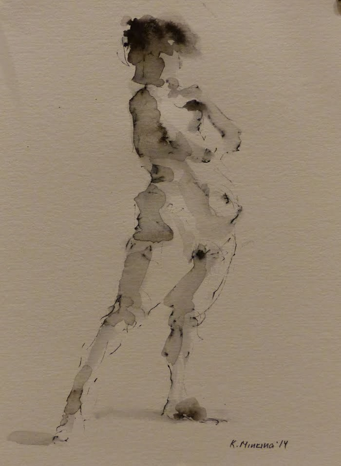 """nude7"" original fine art by Katya Minkina"