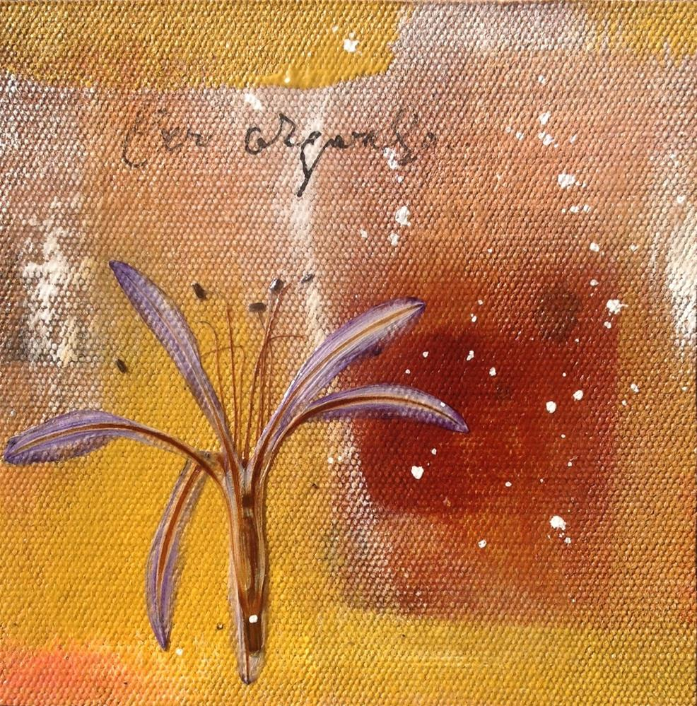 """Cross Pollination Series"" original fine art by Anne Ducrot"