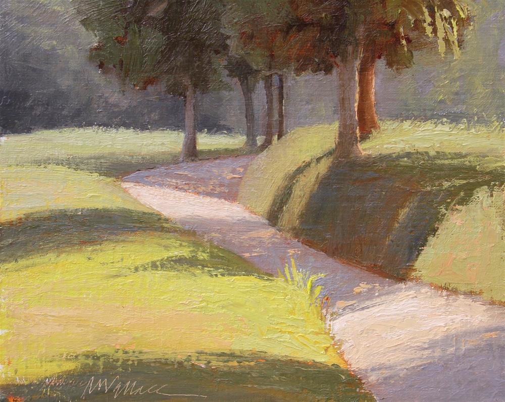 """""""#81 Late afternoon,, Montpelier"""" original fine art by Nancy Wallace"""