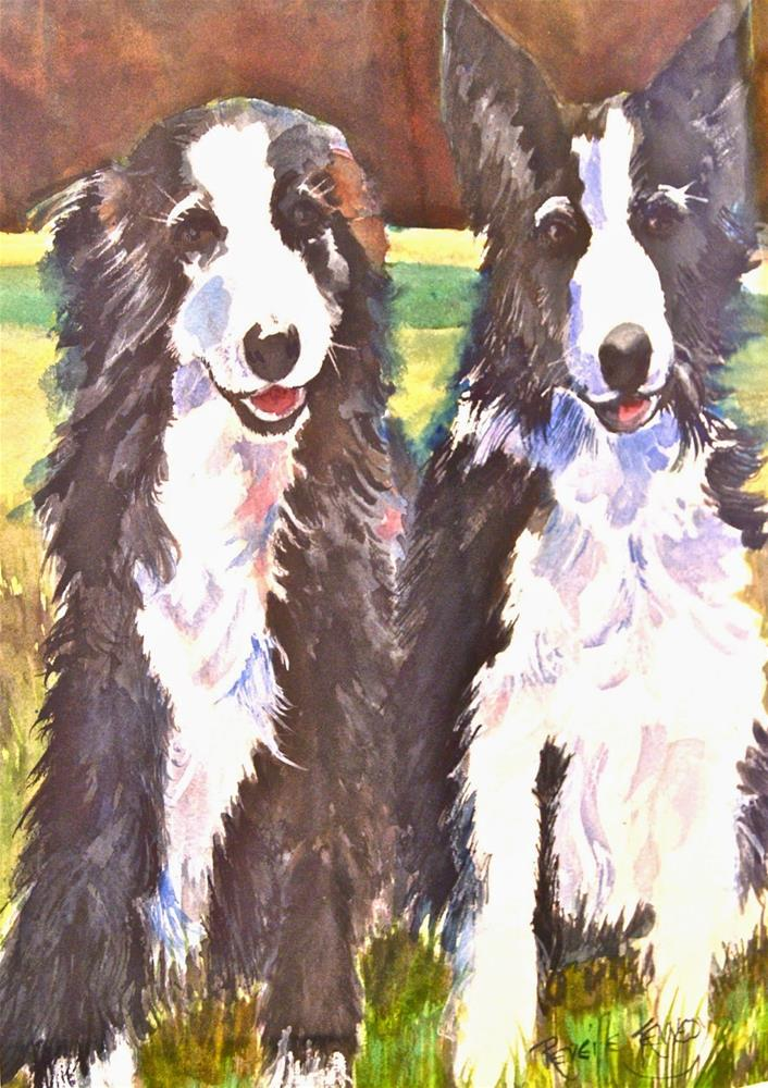 """Let's Escape!"" original fine art by Reveille Kennedy"