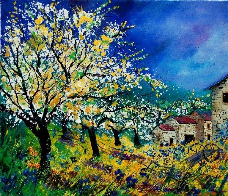 """Spring 67513020"" original fine art by Pol Ledent"