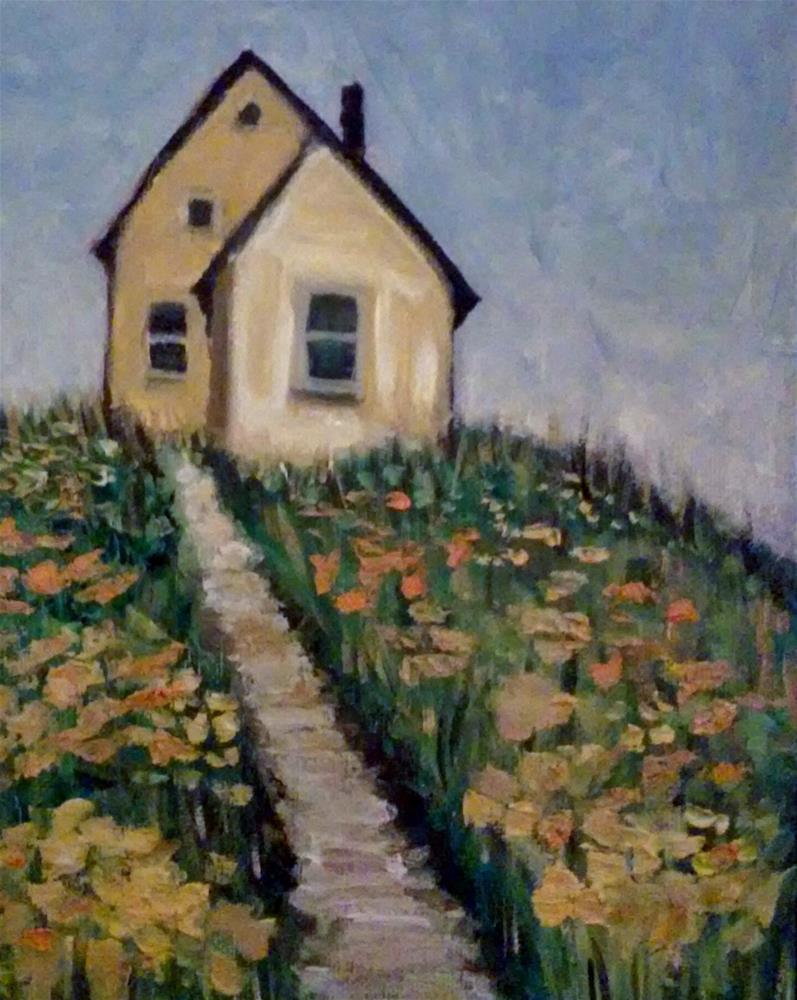 """This Old House"" original fine art by Gerri Obrecht"