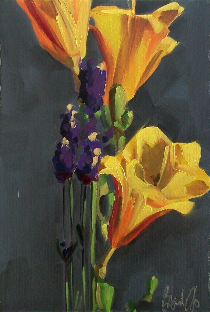 """Summer bouquet"" original fine art by Brandi Bowman"