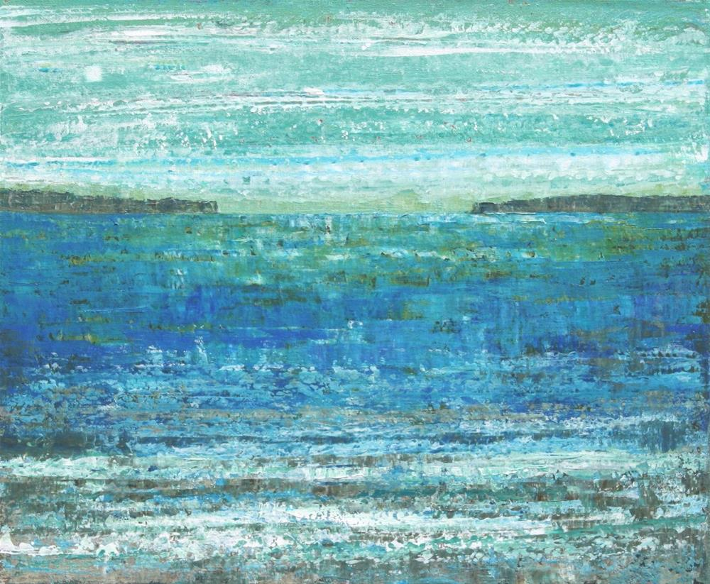 """Across the Sea"" original fine art by Sage Mountain"