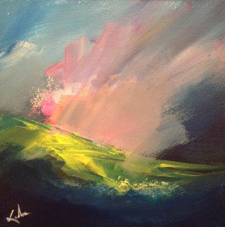 """Melody Undone"" original fine art by David Kuhn"