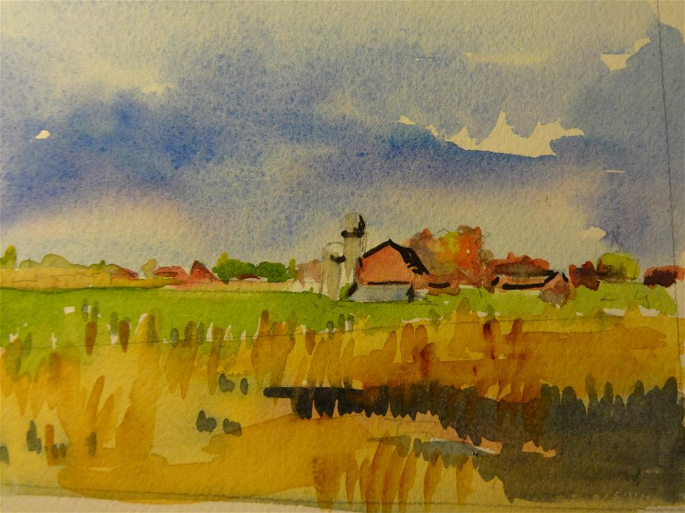 """Carter Farm"" original fine art by angela scully"