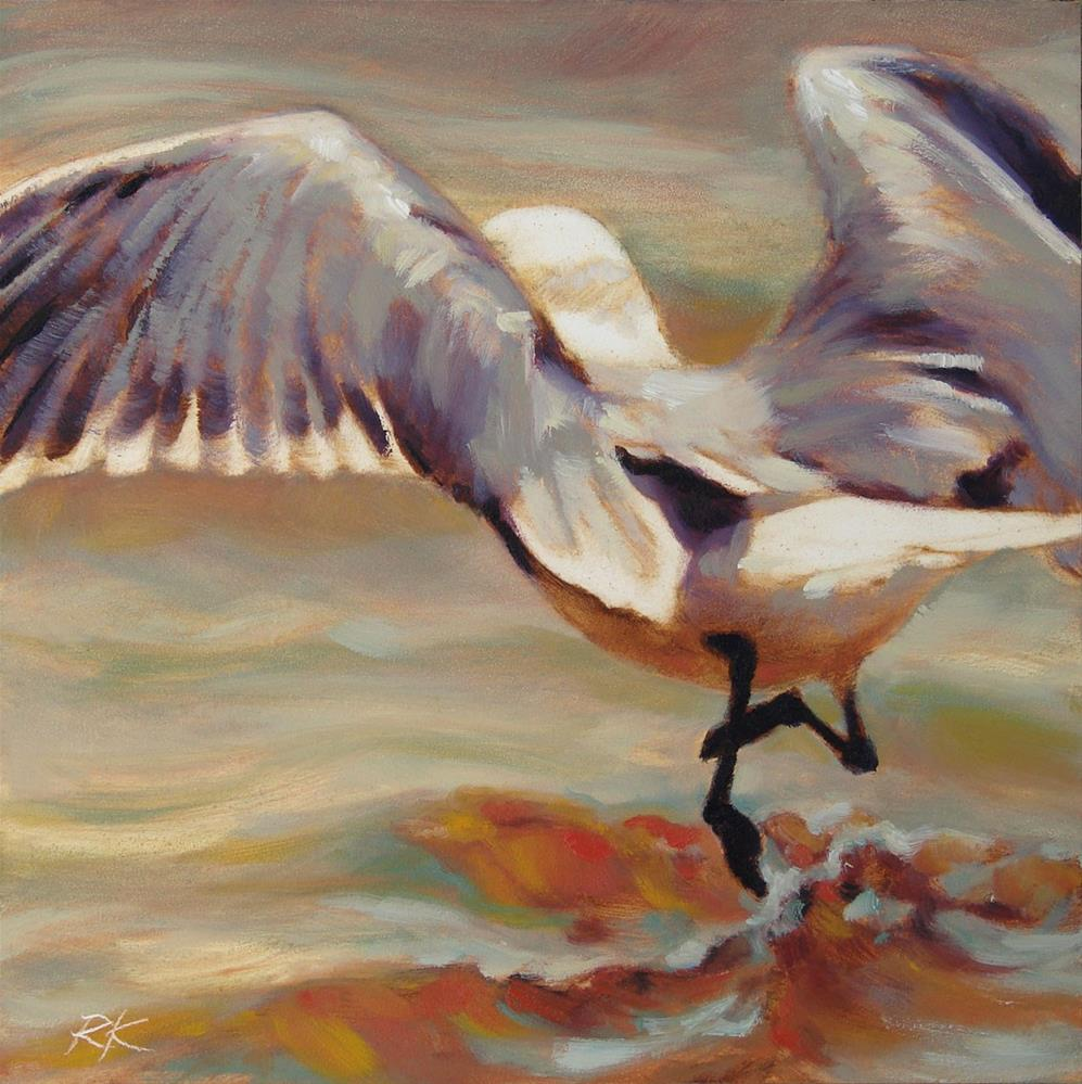 """Wave Tripping"" original fine art by Rita Kirkman"