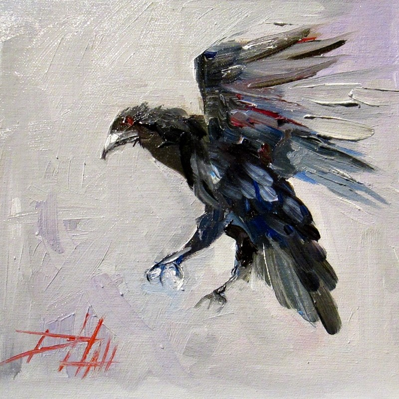 """Flight"" original fine art by Delilah Smith"