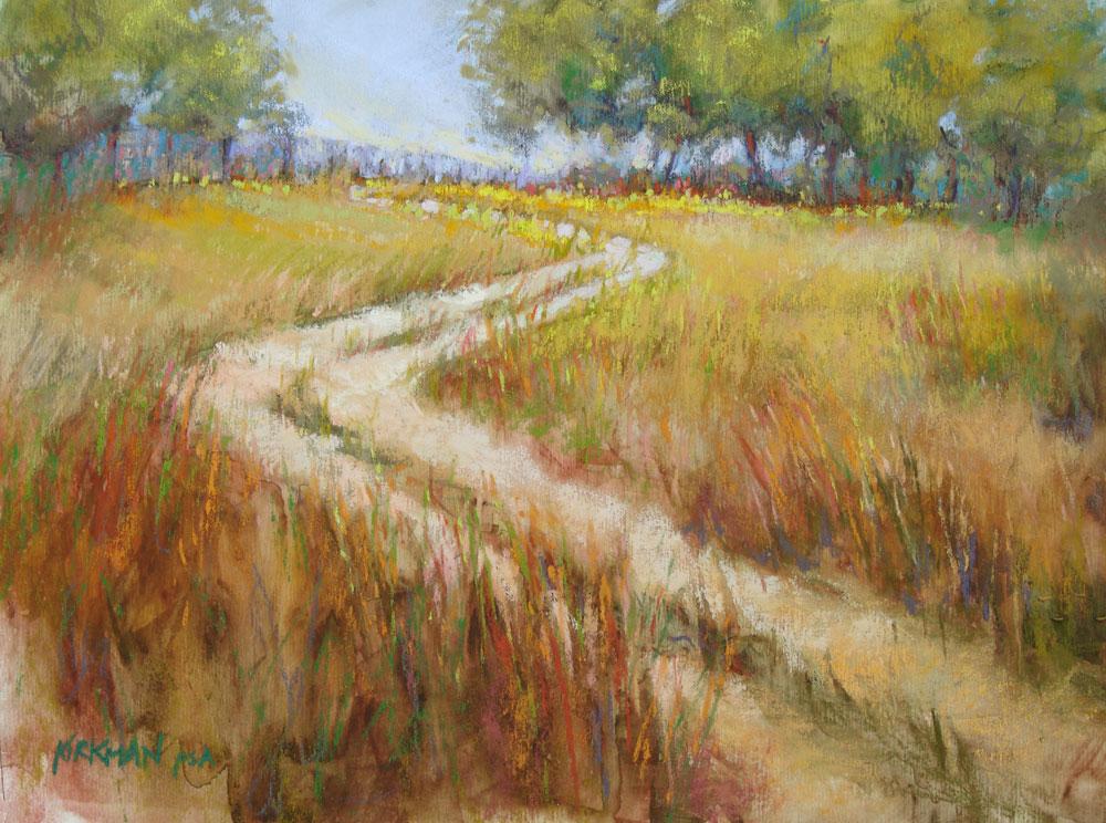 """Ranch Road 17"" original fine art by Rita Kirkman"