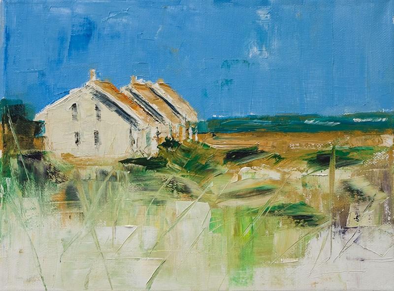 """""""Landscape Challenge #8"""" original fine art by Clair Hartmann"""