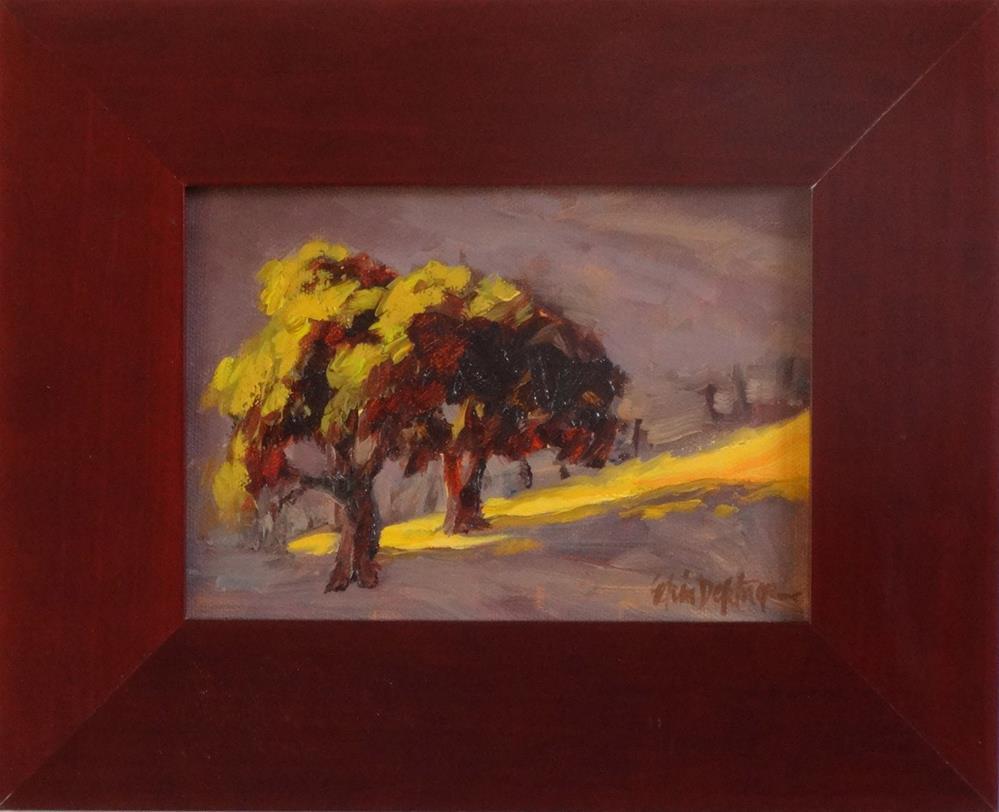 """""""Sliver of Light"""" original fine art by Erin Dertner"""