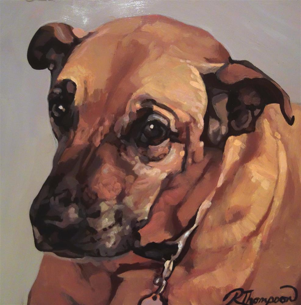"""Meeka Day 25"" original fine art by Rachel Thompson"