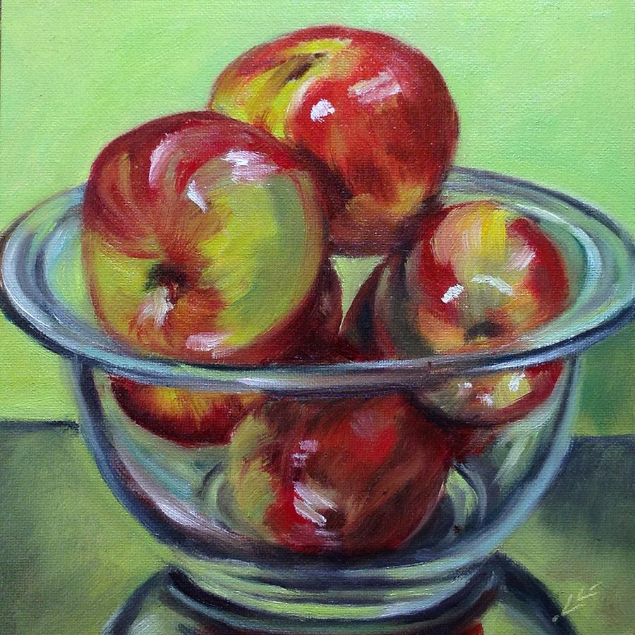 """Honeycrips"" original fine art by Linda Lowery"