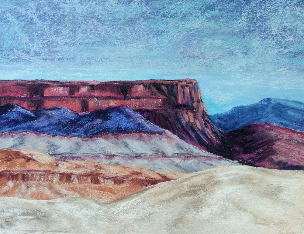 """and the Rocks Red Glare"" original fine art by Anna Lisa Leal"