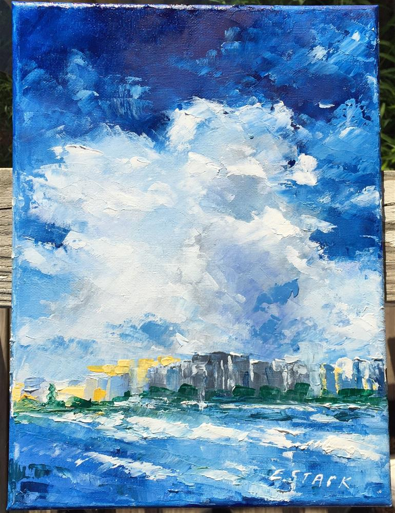 """Sarasota"" original fine art by Elizabeth Ann Stark"
