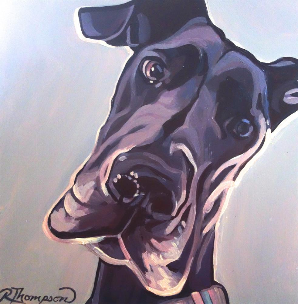 """""""Oaklee"""" original fine art by Rachel Thompson"""