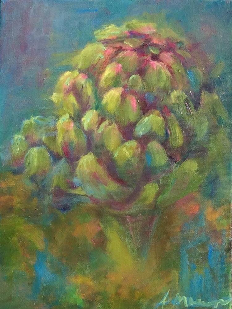 """""""Garden Beauty"""" original fine art by Susie Monzingo"""