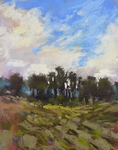 """""""The Best Way to Evaluate Your Mark-Making"""" original fine art by Karen Margulis"""