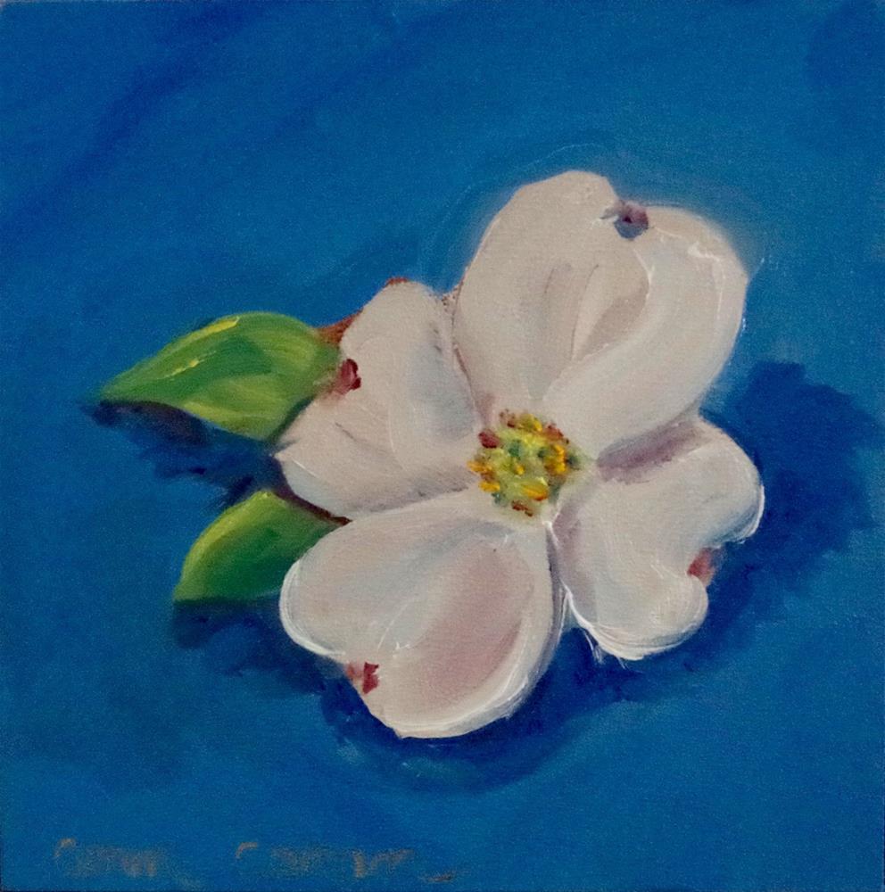 """April Morning"" original fine art by Ann Cohen"