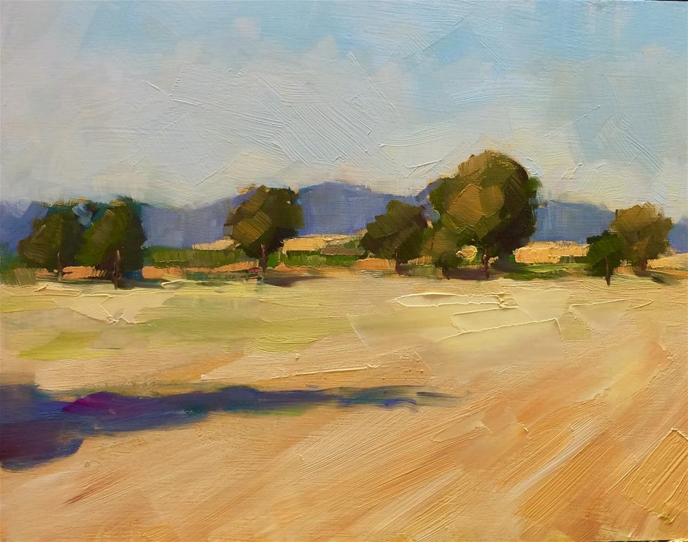 """After Harvesting"" original fine art by Naomi Bautista"
