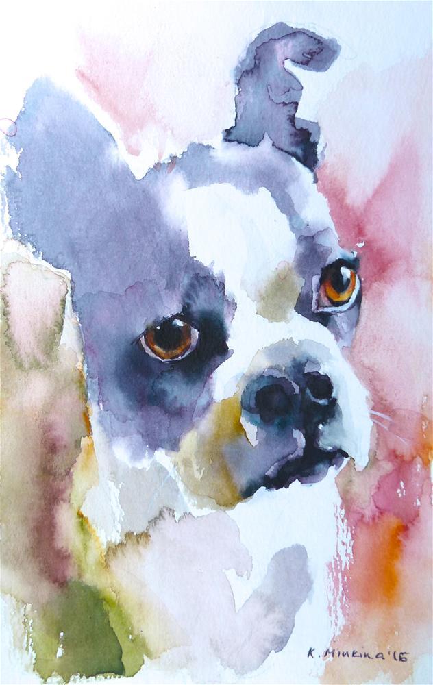 """adopt163"" original fine art by Katya Minkina"
