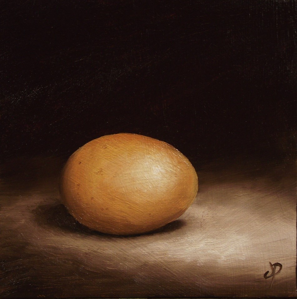 """Egg"" original fine art by Jane Palmer"