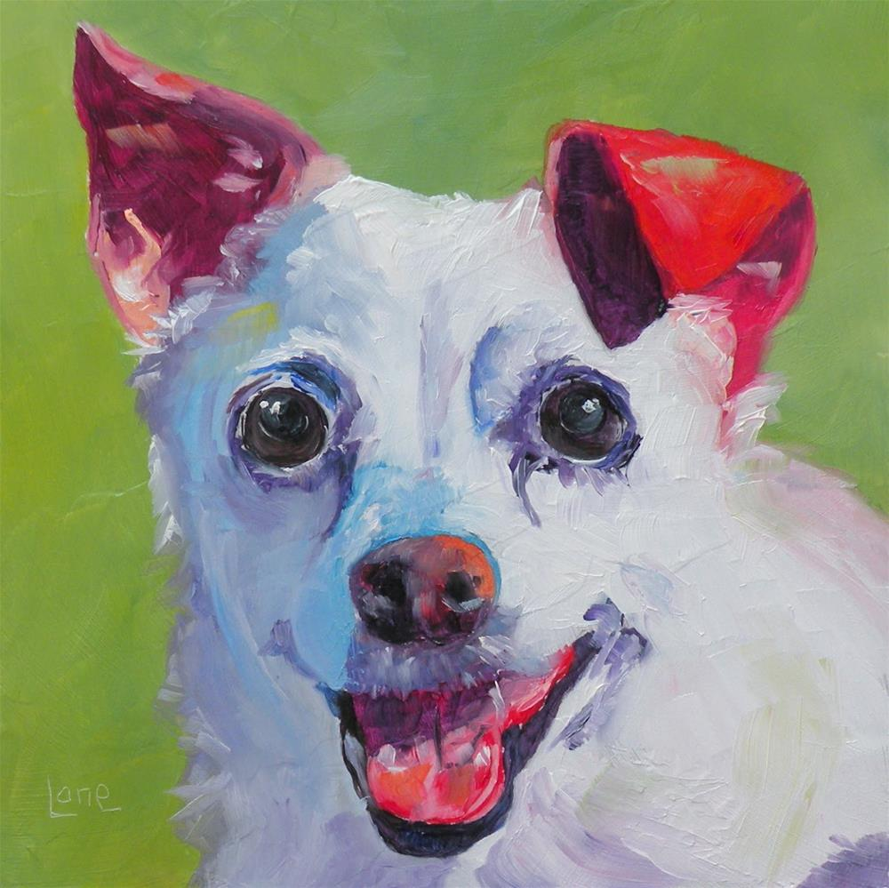 """I WANT TO PAINT YOUR PET KID! © SAUNDRA LANE FINE ART"" original fine art by Saundra Lane Galloway"