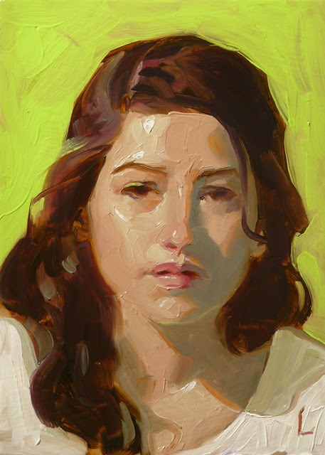 """Green Screen"" original fine art by John Larriva"