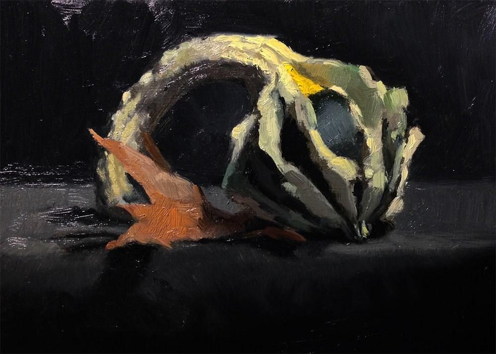"""""""The Beginning of Fall"""" original fine art by Chris Beaven"""