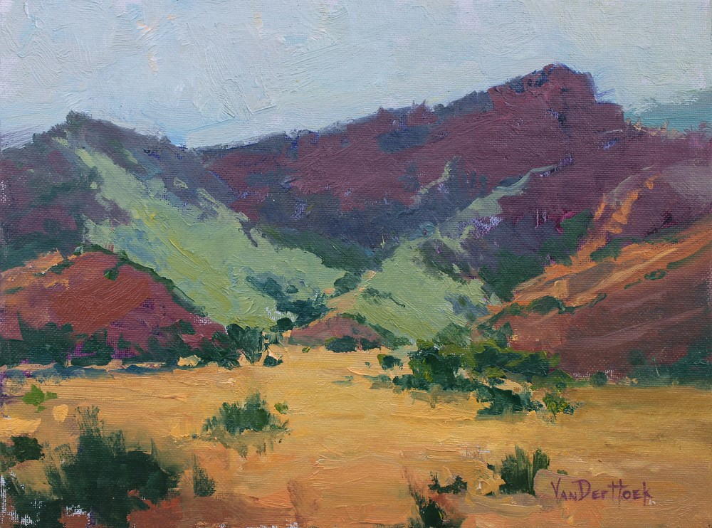 """Canyon Colors"" original fine art by Kim VanDerHoek"