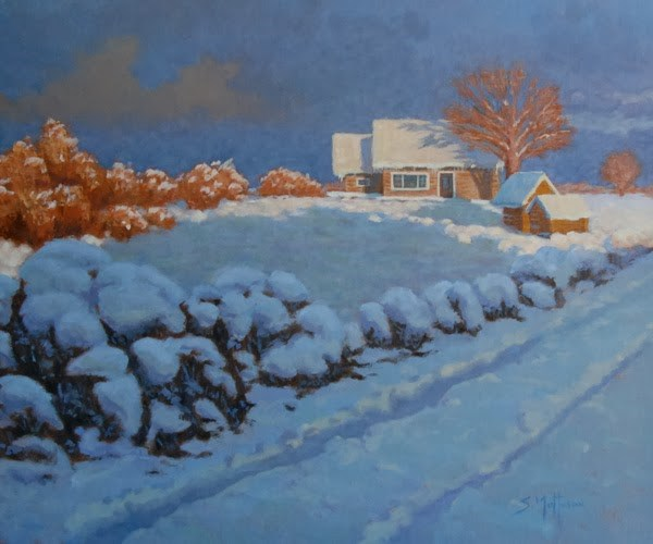 """After the Storm"" original fine art by Susan Matteson"