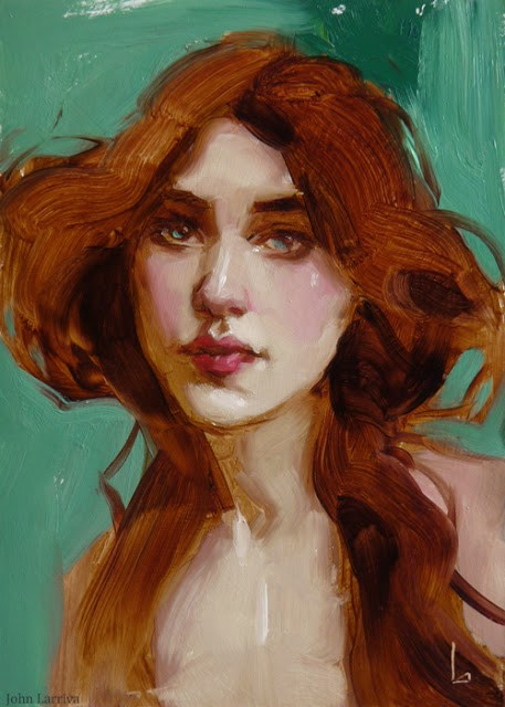 """Bell"" original fine art by John Larriva"