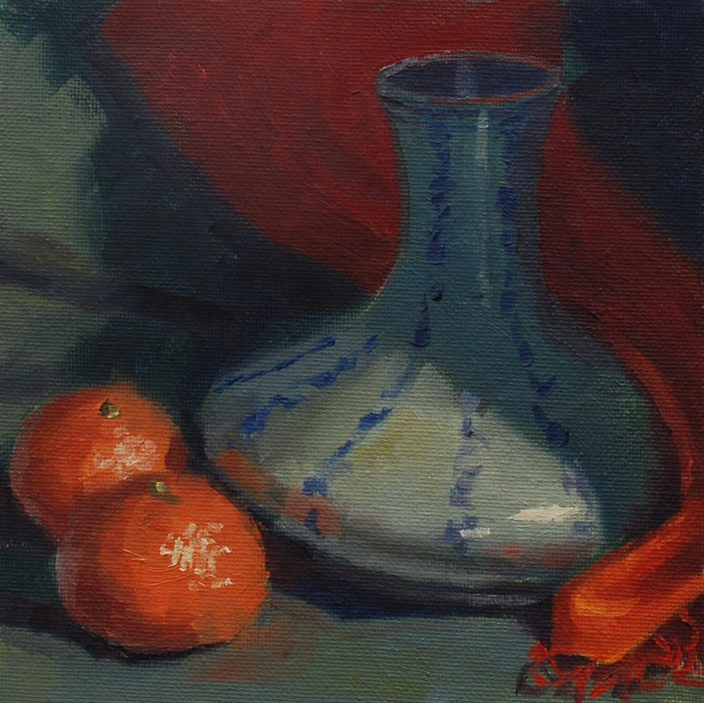 """Lost in the Shuffle"" original fine art by Susan McManamen"