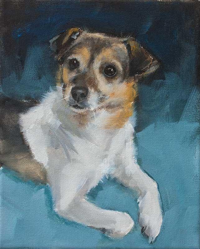 """PAINT MY DOG! Series #20"" original fine art by Clair Hartmann"