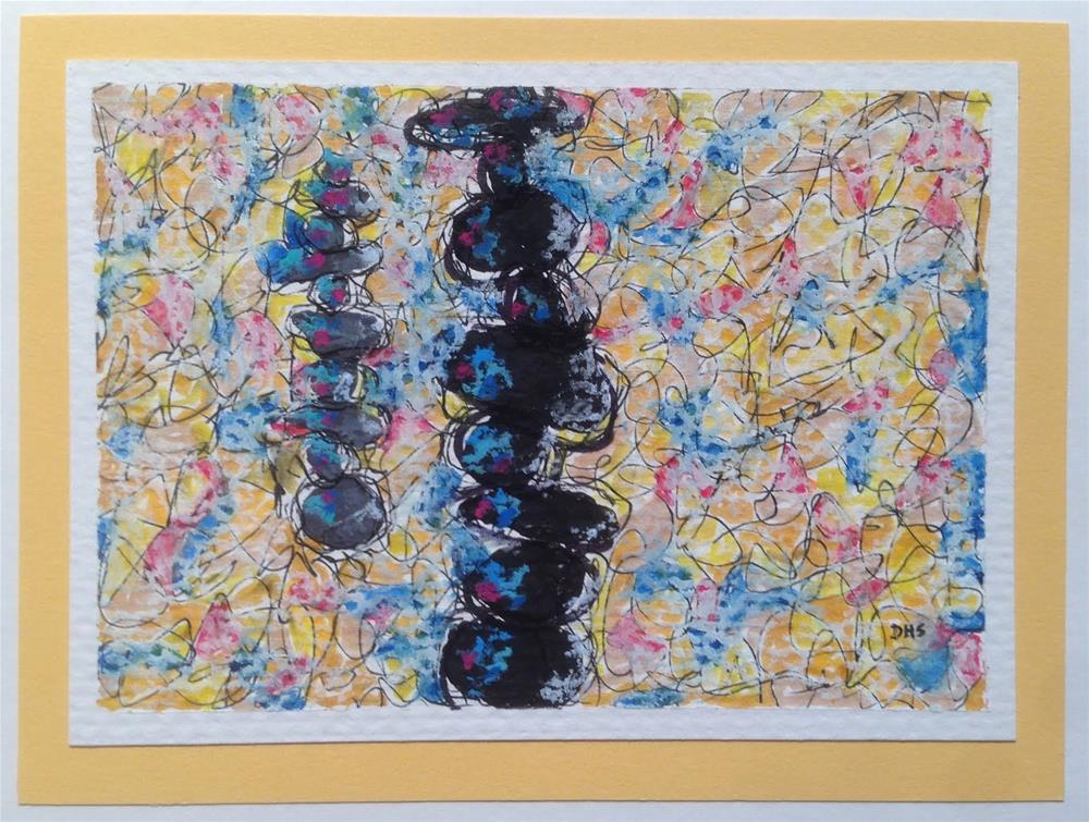 """Rising Strong"" original fine art by Dotty Seiter"