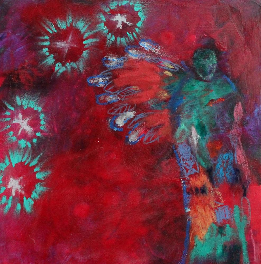 """""""Angel Approaching"""" original fine art by Kerri Blackman"""