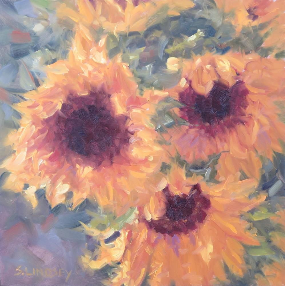 """A Nod To The Sun"" original fine art by Susan Lindsey"