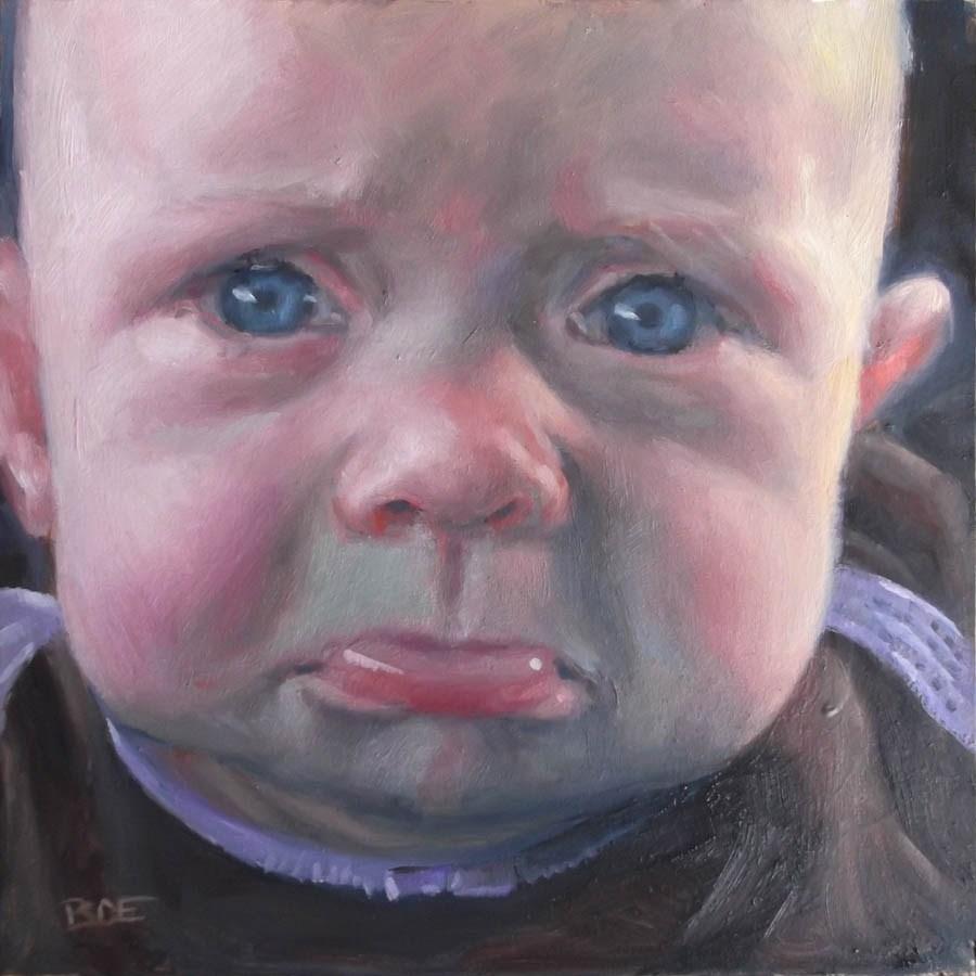 """Dublin"" original fine art by Karen Boe"