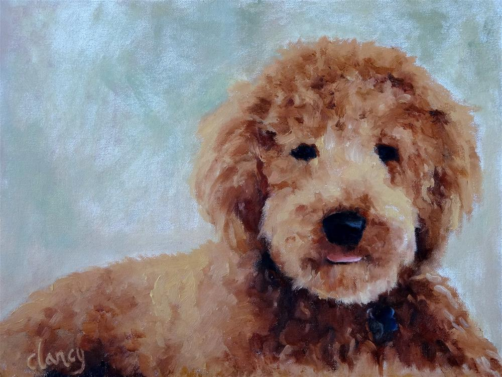 """Sadie"" original fine art by Catherine Clancy"