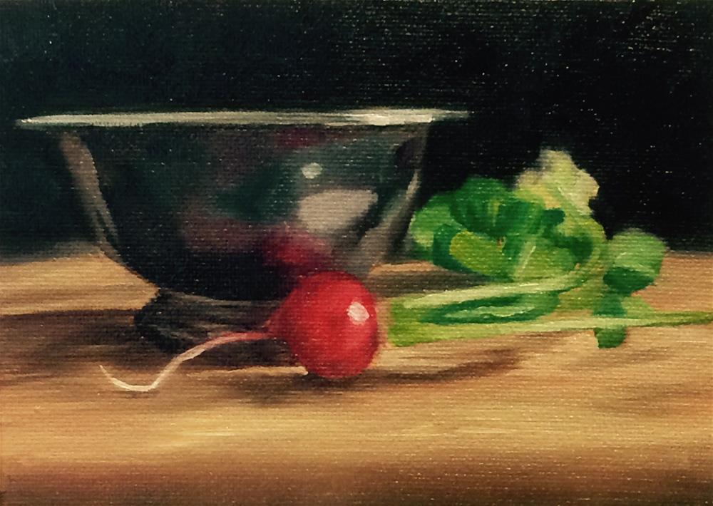 """""""Pop of Red"""" original fine art by Nikki Gardner"""