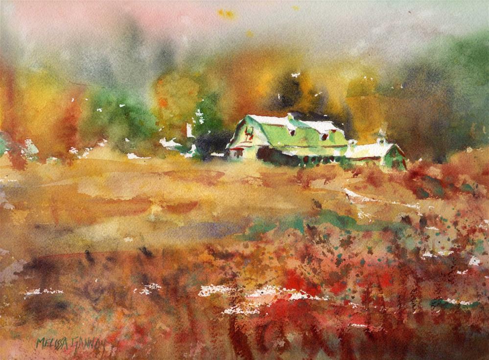 """Indian Summer II"" original fine art by Melissa Gannon"
