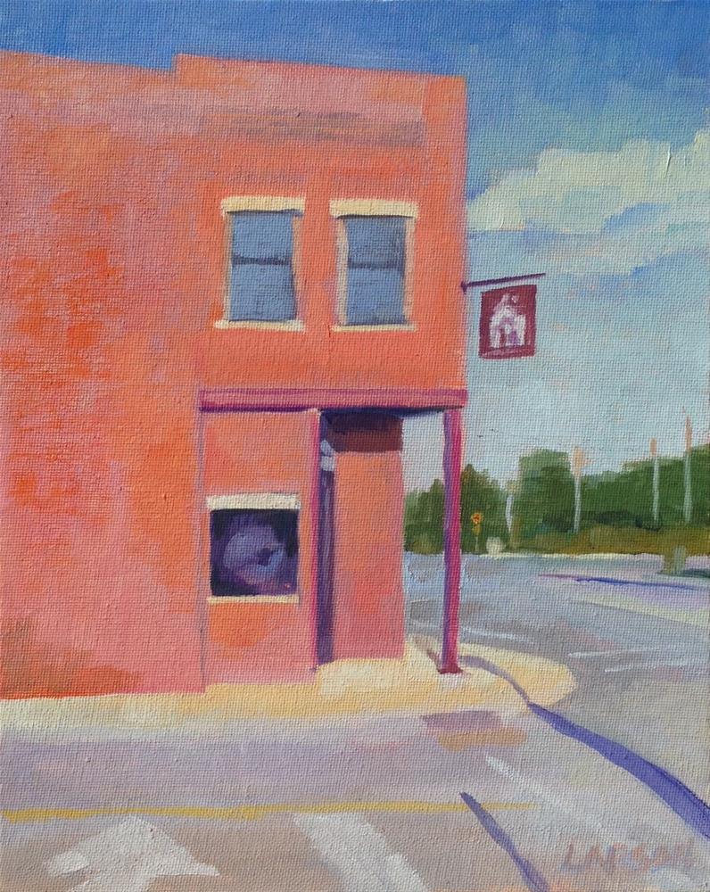 """Red Iron Tavern"" original fine art by Eric Larson"