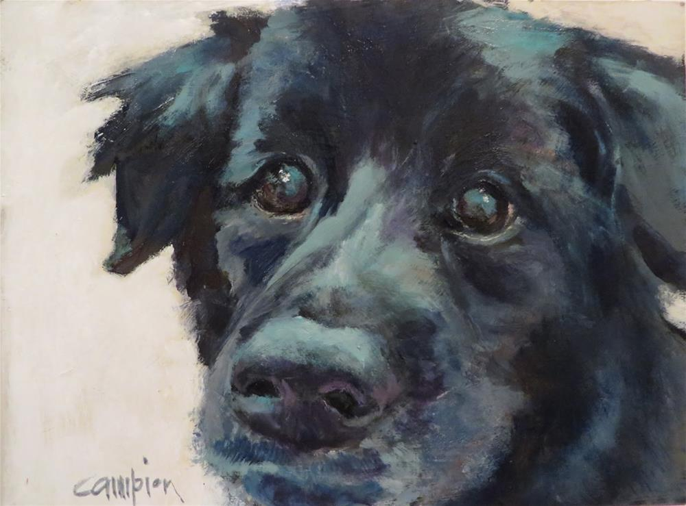 """733 Loyal Friend"" original fine art by Diane Campion"