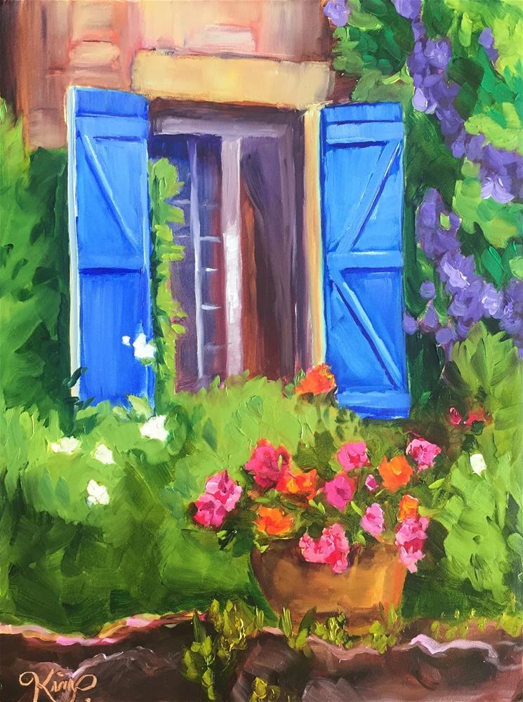 """Dream love paint II"" original fine art by Kim Peterson"