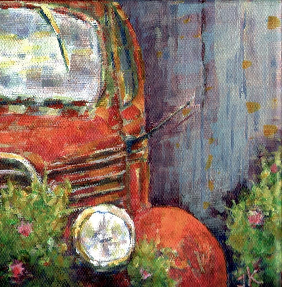 """""""Rust"""" original fine art by J Kelsey"""