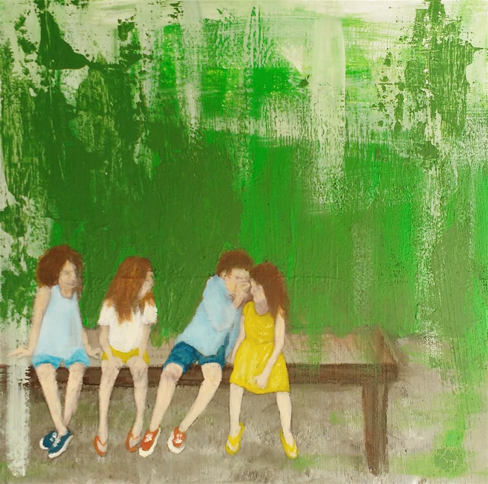 """Summer!"" original fine art by Sandra Woerner"