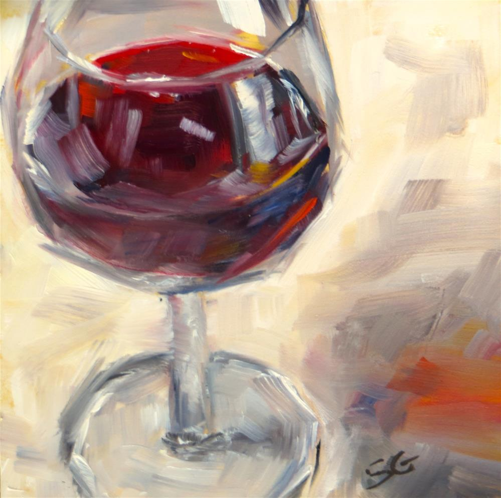 """Cab Sav"" original fine art by Susan Galick"