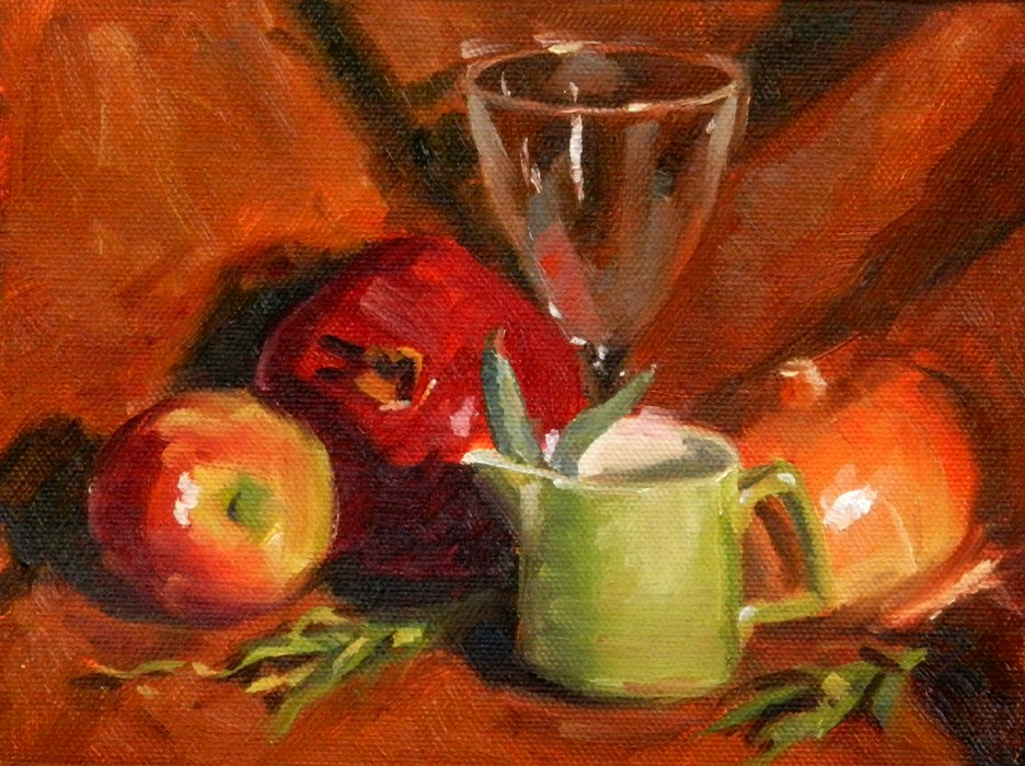 """Still Life #1"" original fine art by Susan McManamen"