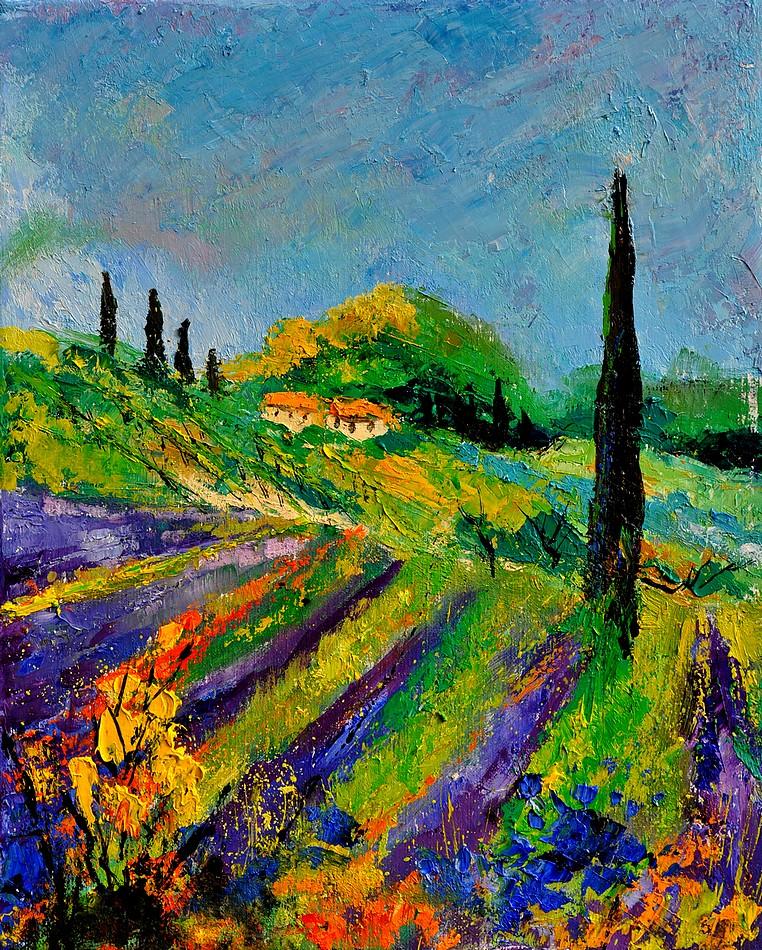 """provence 451190"" original fine art by Pol Ledent"