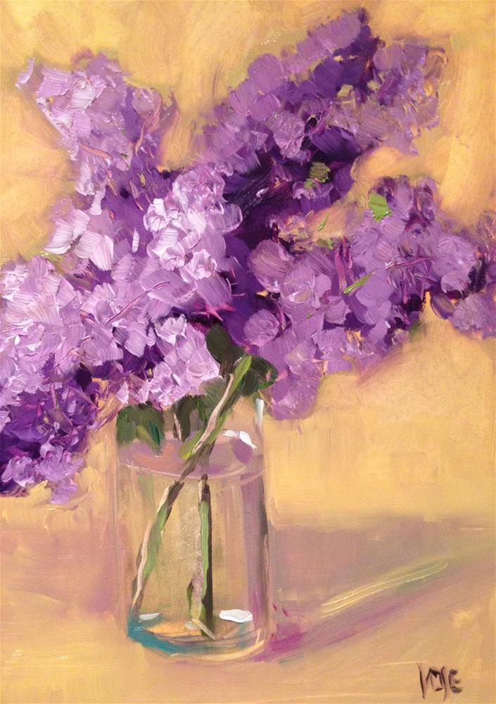 """#77 Lilac-O-Rama"" original fine art by Patty Voje"